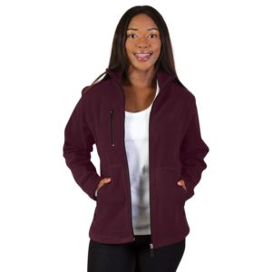 Ladies Zip Off Sleeve Fleece