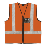Safety Vest Highway Waistcoat Orange