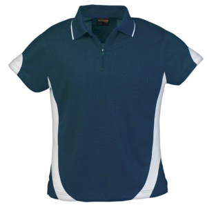 Ladies Breezeway Golfer navy-white