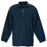 Mens Essential Micro Fleece Navy