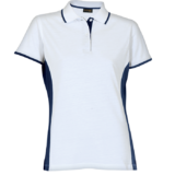 Ladies Two-Tone Golfer white-navy