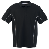 Mens's excel Golfer black-white