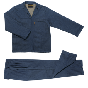 Barron Budget 100% Cotton Conti Suit denim blue