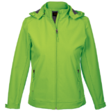 Ladies Illusion Jacket lime