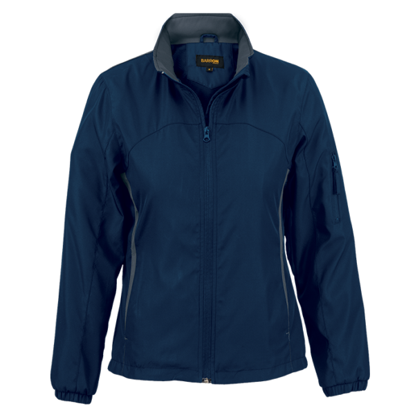 Ladies Griffin Jacket navy grey