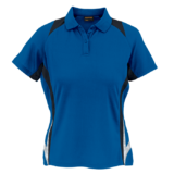 Ladies Relay Golfer cobalt-black-white