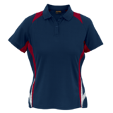 Ladies Relay Golfer navy-red-white