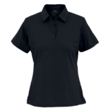 black golf shirt