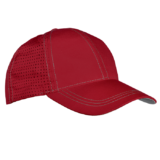 6 Panel Reno Cap red-silver