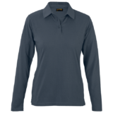 Ladies Caprice Long Sleeve Golfer charcoal