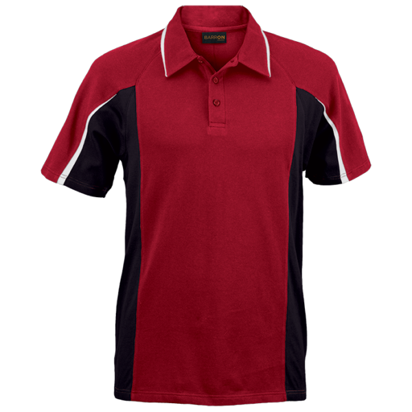 Mens Nero Golfer red-black-white