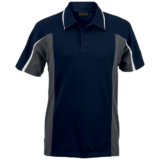 Mens Nero Golfer navy grey white