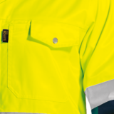 Premier Conti Jacket with-Reflective chest pocket detail