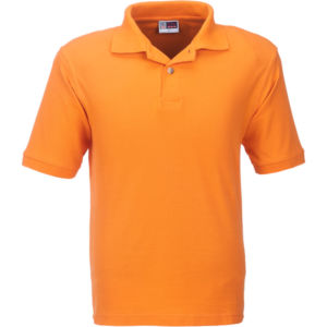 Mens Boston Golf Shirt BAS-80 orange